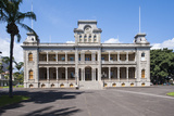 Iolani Palace, Honolulu, Oahu, Hawaii, United States of America, Pacific Photographic Print by Michael DeFreitas