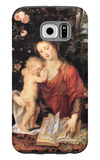 Mary with Child Galaxy S6 Case by Peter Paul Rubens