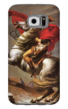 Napoleon Crosses the Great St. Bernard Pass Galaxy S6 Case by Jacques-Louis David