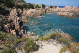 The Sea at Costa Paradiso, Sardinia, Italy, Mediterranean Photographic Print by Ethel Davies