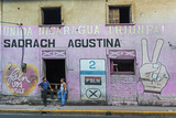 Fsln (Sandinista) Mural Reflecting the Revolutionary Past of This Important Northern City Papier Photo par Rob Francis