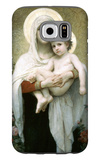 The Madonna of the Roses Galaxy S6 Case by William Adolphe Bouguereau