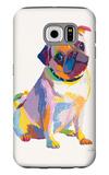 Pug Sketch Galaxy S6 Case by Patti Mollica