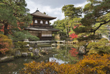 The Silver Pavilion, Buddhist Temple of Ginkaku-Ji, Northern Higashiyama, Kyoto, Japan Fotodruck von Stuart Black