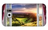Amazing Window View Galaxy S6 Case by  MrEco99