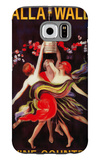 Women Dancing with Wine - Walla Walla, Washington Galaxy S6 Case by  Lantern Press