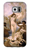 The Birth of Venus Galaxy S6 Case by William Adolphe Bouguereau