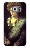 Isabella in Black Galaxy S6 Case by  Titian