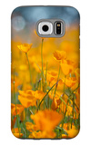 Riverside Poppies Galaxy S6 Case by Vincent James