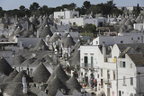 Cone-Roofed Trulli Houses on the Rione Monte District, Alberobello, Apulia, Italy Photographic Print by Stuart Forster