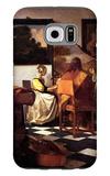 Musical Trio Galaxy S6 Case by Jan Vermeer