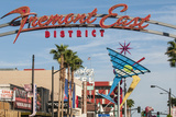 Fremont Street and Neon Sign, Las Vegas, Nevada, United States of America, North America Photographic Print by Michael DeFreitas