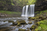 Sgwd Yr Eira Waterfall, Ystradfellte, Brecon Beacons National Park, Powys, Wales, United Kingdom Photographic Print by Stuart Black