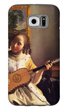 The Guitar Player Galaxy S6 Case by Jan Vermeer
