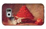 The Strawberry Basket Galaxy S6 Case by Jean-Baptiste Simeon Chardin