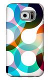 Rainbow Circles Galaxy S6 Case by  VolsKinvols