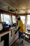 Ferry Captain, St. Kitts and Nevis, Leeward Islands, West Indies, Caribbean, Central America Photographic Print by Robert Harding