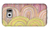 Colorful Circle Modern Abstract Design Pattern Galaxy S6 Case by  Melindula