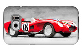 1957 Ferrari Testarossa Watercolor Galaxy S6 Case by  NaxArt