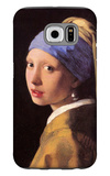 The Girl with the Pearl Earring Galaxy S6 Case by Jan Vermeer