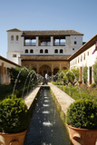 Generalife Gardens, Alhambra Palace, UNESCO World Heritage Site, Granada, Andalucia, Spain, Europe Photographic Print by Yadid Levy