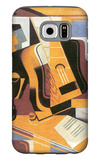 The Guitar 1918 Galaxy S6 Case by Juan Gris