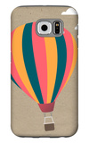 Hot Air Balloon Galaxy S6 Case by  Lantern Press