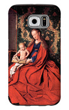 Madonna and Child Reading Galaxy S6 Case by Jan Van Eyck