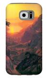 Donner Lake Galaxy S6 Case by Albert Bierstadt