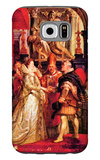 Medici Marriage in Florence Galaxy S6 Case by Peter Paul Rubens