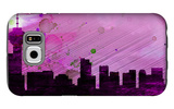 Vancouver City Skyline Galaxy S6 Case by  NaxArt
