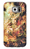 Hell Overthrow of the Damned Galaxy S6 Case by Peter Paul Rubens