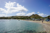Lion Rock Beach, St. Kitts, St. Kitts and Nevis Photographic Print by Robert Harding