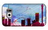 Johannesburg City Skyline Galaxy S6 Case by  NaxArt
