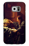 The Astronomer Galaxy S6 Case by Jan Vermeer