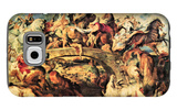 Amazon Battle Galaxy S6 Case by Peter Paul Rubens