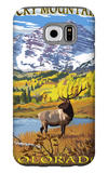 Maroon Bells - Rocky Mountain National Park Galaxy S6 Case by  Lantern Press