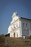 Capello Do Monte (Mount Mary Church), Old Goa, UNESCO World Heritage Site, Goa, India, Asia Photographic Print by Yadid Levy