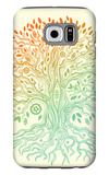 Beautiful Vintage Hand Drawn Tree Of Life Galaxy S6 Case by  transiastock