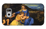 The Virgin and Child Galaxy S6 Case by  Titian