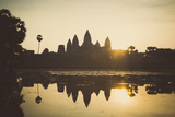 Angkor Wat Temple, Angkor, UNESCO World Heritage Site, Cambodia, Indochina, Southeast Asia, Asia Photographic Print by Yadid Levy