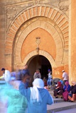 Bab El Had, Rabat, Morocco, North Africa, Africa Photographic Print by Neil Farrin