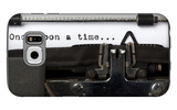 """Words """"Once Upon A Time"""" Written With Old Typewriter Galaxy S6 Case by  foodbytes"""