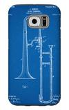Slide Trombone Instrument Patent Galaxy S6 Case