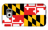 Maryland - State Flag Galaxy S6 Case by  Lantern Press