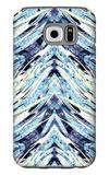 Psychedelic Fiber Seamless Pattern Galaxy S6 Case by Alexandra Khrobostova