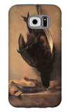 Still Life with Dead Pheasant and Hunting Bag Galaxy S6 Case by Jean-Baptiste Simeon Chardin