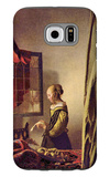 Girl at the Open Window Galaxy S6 Case by Jan Vermeer