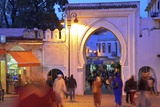 Bab El Fahs at Dusk, Grand Socco, Tangier, Morocco, North Africa, Africa Photographic Print by Neil Farrin