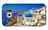 Amazing Santorini - Travel In Greek Islands Series Galaxy S6 Case by  Maugli-l